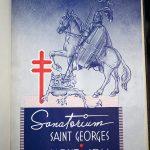 Album-souvenir de la bénédiction et de l'inauguration du sanatorium Saint-Georges. Mont-Joli, Québec, 1939.